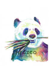 Load image into Gallery viewer, Panda Watercolor Print