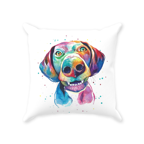 German Shorthair Pointer Throw Pillows
