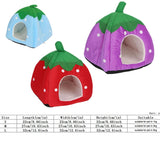 Cute Strawberry Foldable Bed - 3 different colours