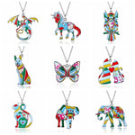 Cloisonn'e Animal Pendant & Necklace - 11 Different Types
