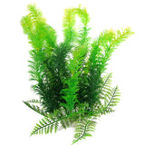 "Bushy Green Aquatic Plant 9.8"" Tall Aquarium Ornament"