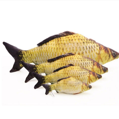 Plush Fish Catnip Toys - 10 different fish to choose from