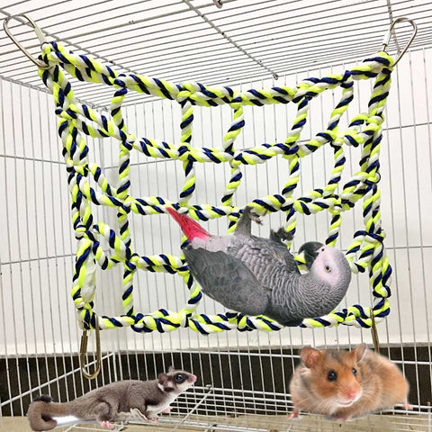 Chunky Cotton Cargo Net for birds