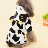 Cow Fancy Dress Outfit For Cats & Small Dogs