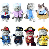 Various Fancy Dress Outfits For Cats & Small Dogs