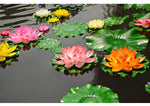 Lifelike Silk Water Lilly 1Pc - 11cm-17cm-28cm