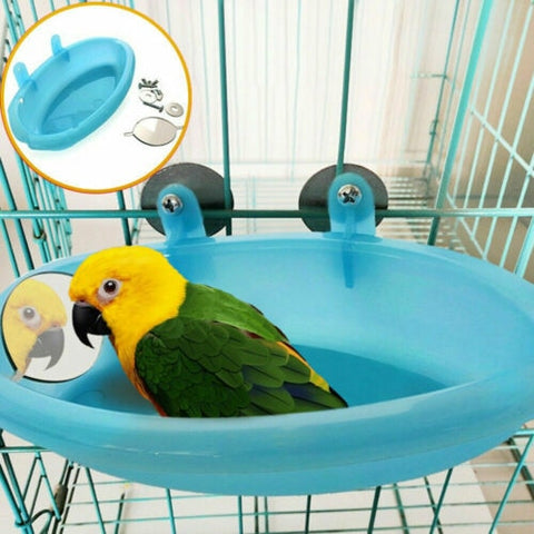 Fun Bathtub with Mirror for birds
