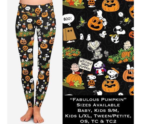 Fabulous Pumpkin Leggings