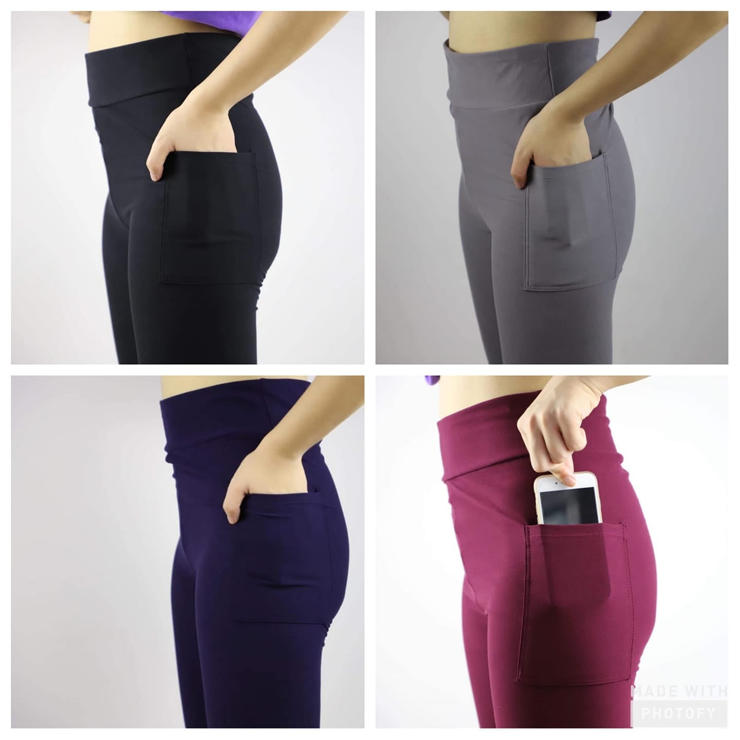 Pocket Capri Leggings