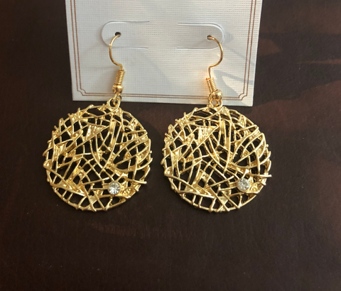 Filigree Sparkle Earrings