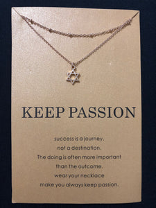 Keep Passion Necklace