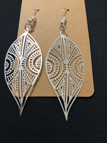 Tear Filigree Earrings