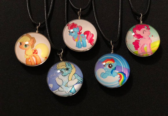 Children's Pony Necklace