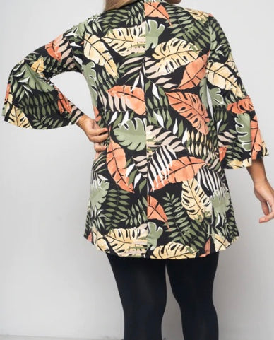 Leaf Tunic Top
