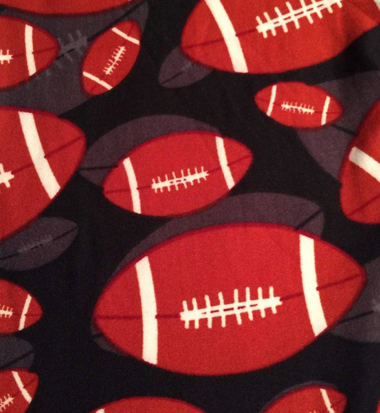 Football Leggings - Plus Size