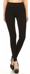 Classic Black - Control Top Leggings