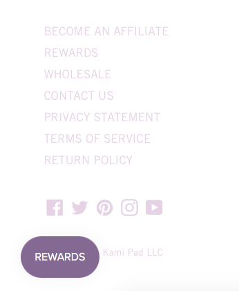 The Kami Pad Reward Program