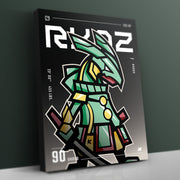 RYQZ x SMRI - Canvas Gallery Wrap - JAMKOO