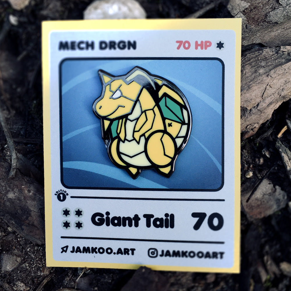 Mech DRGN - Pin (1st) - JAMKOO