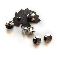 6 Locking Pin Backs - JAMKOO
