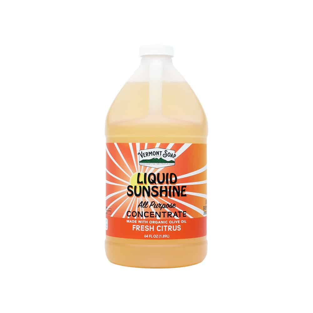 Vermont Soap - Liquid Sunshine Non-Toxic Cleaner Concentrate