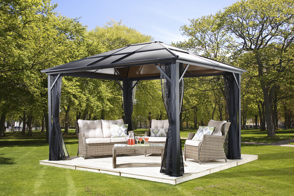 Meridien Gazebo 10 x 10 ft