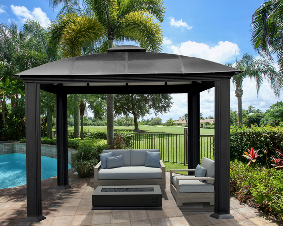 Cambridge Domed Hard-Top Gazebo - 3 sizes