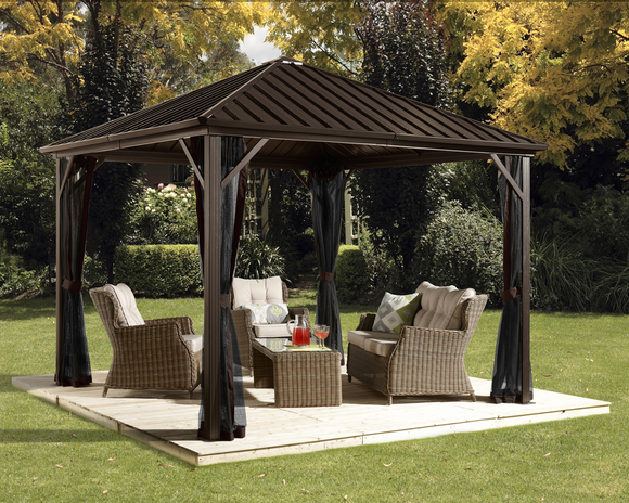 Dakota Gazebo, 3 sizes