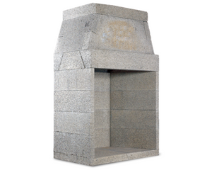 Isokern Magnum Outdoor Fireplace - 48""