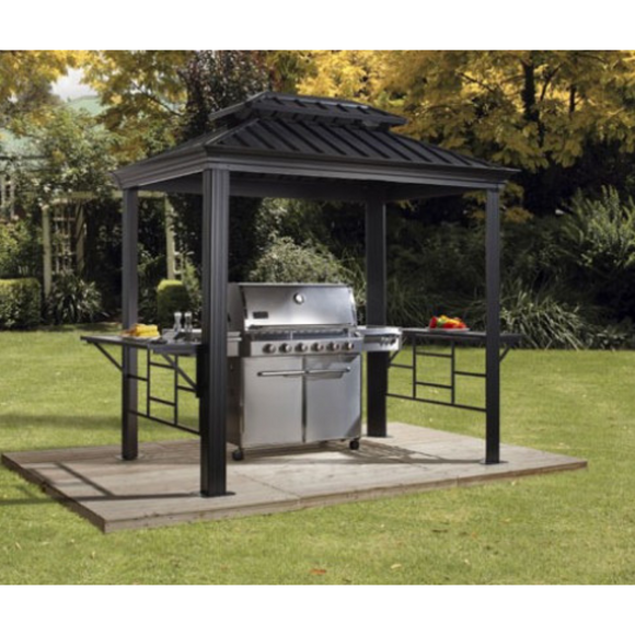 Messina Grill Gazebo 6 x 8 ft