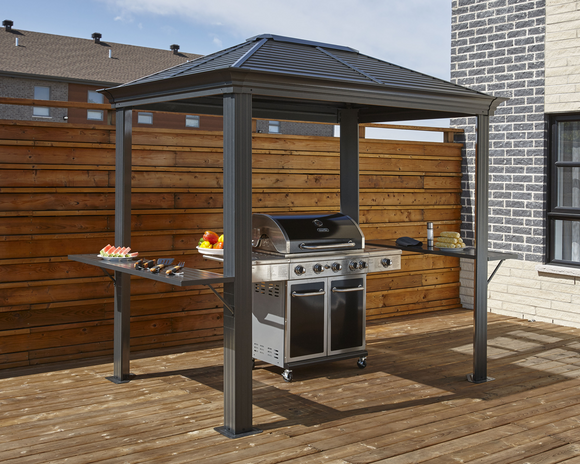 Mykonos Grill Gazebo 5 x 8 ft