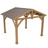 Carolina Pavilion 11x13 with Aluminum Roof - YM11726