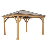 Meridian 12x14 Gazebo with Aluminum Roof - YM11772