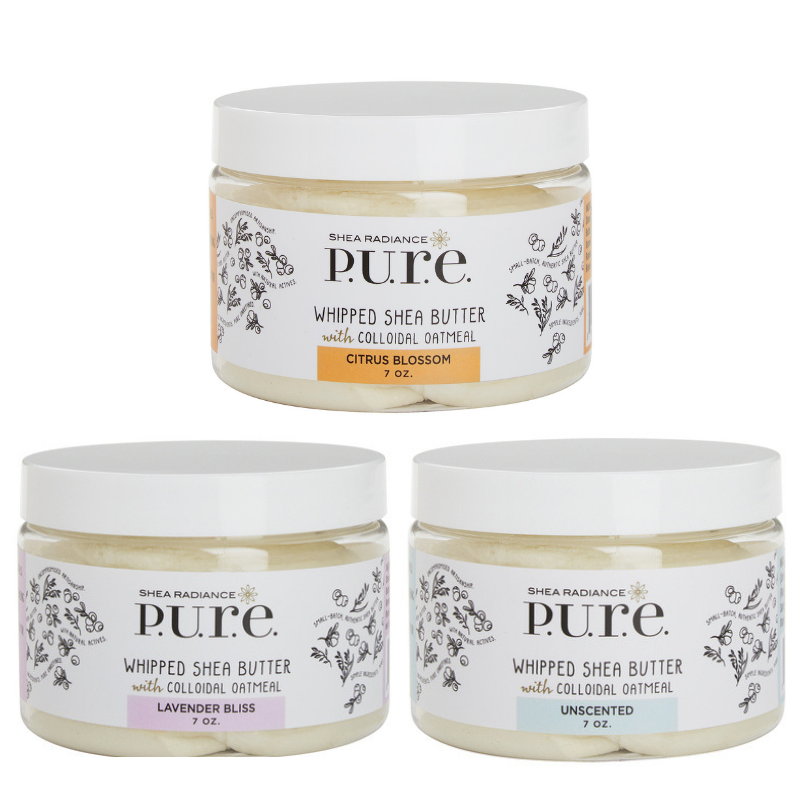 3 Whipped Shea Butter Set - Assorted Scents