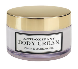 Antioxidant Body Creams with Shea Butter & Baobab Oil (Set of 2)
