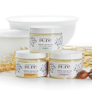 Whipped Shea Butter with Colloidal Oatmeal