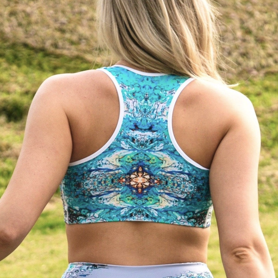 Stained Glass Sports bra