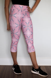 Blushing Capri Length Leggings