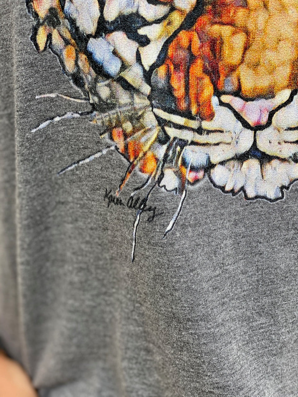 Tiger Face Triblend Tee