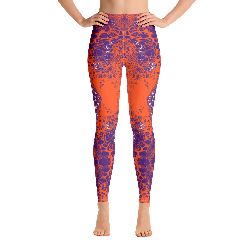 Purple & Orange Lace