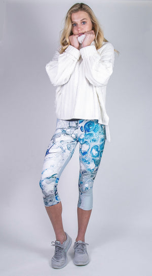 Rockin' Prussian Capri Leggings