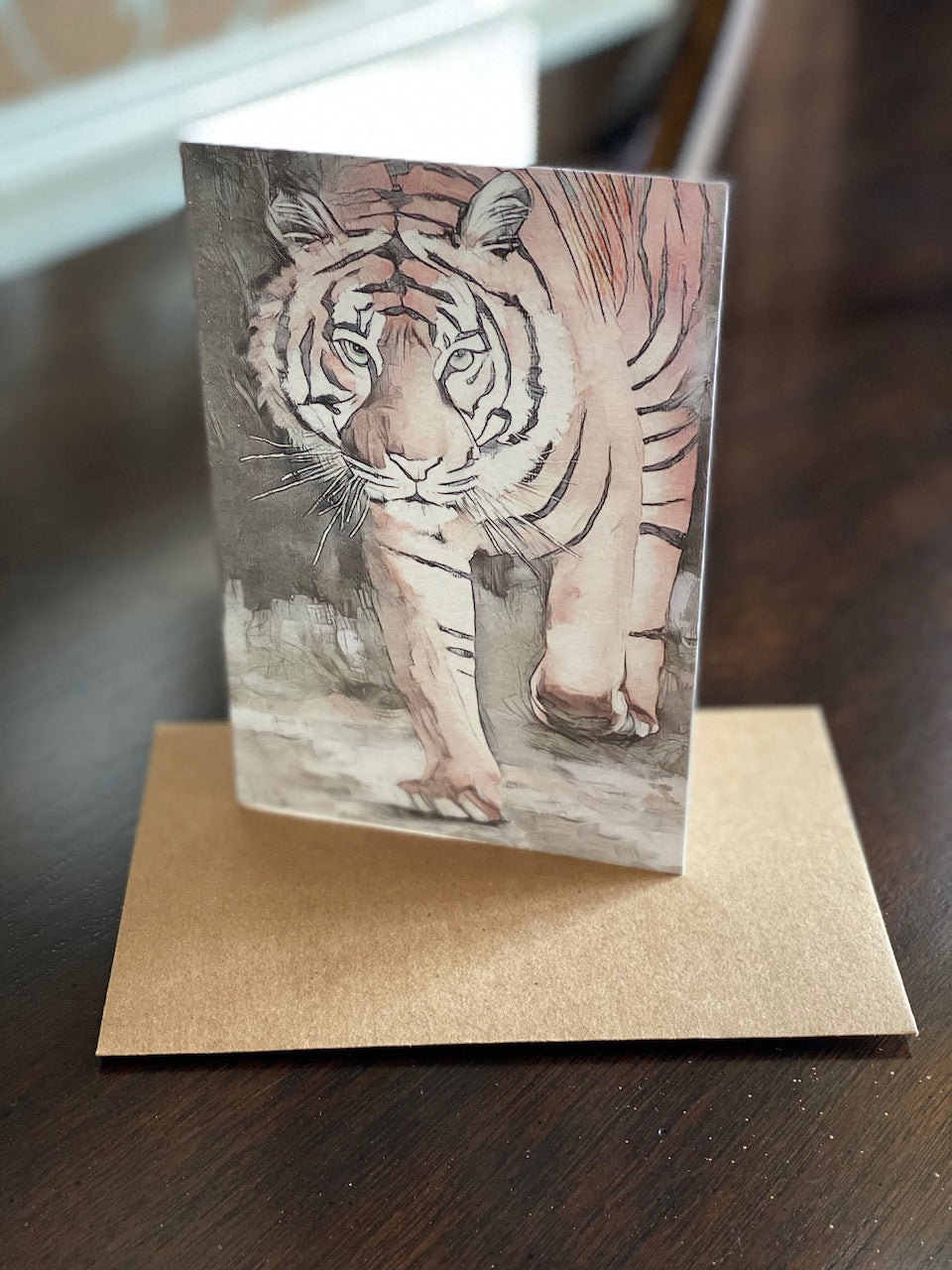 """Champion"" Tiger Note Card (10 pk.)"