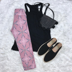 Blushing Full Length Leggings