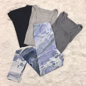 Butterfly Wing Capri Leggings