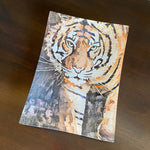 Mosaic Tiger Glass Tray (3 sizes)