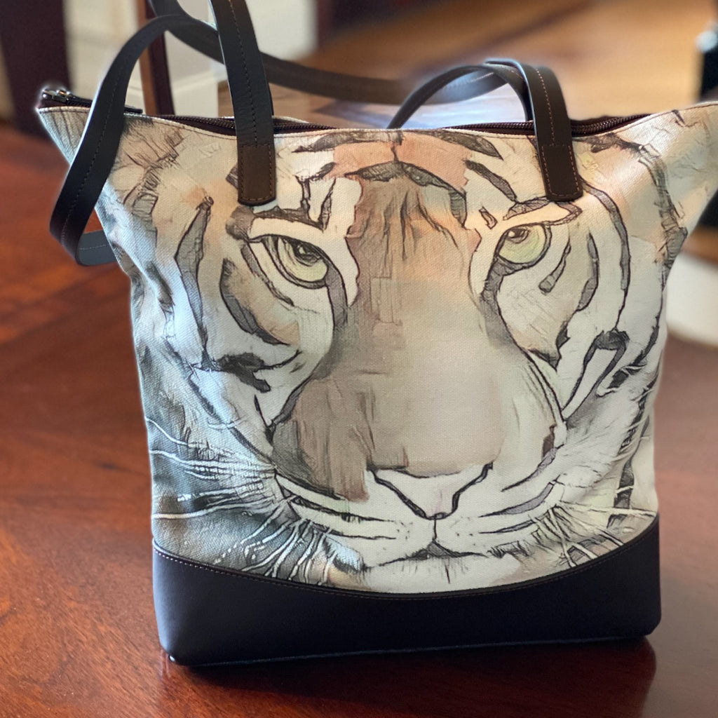 """Champion"" Tiger Statement Bag"