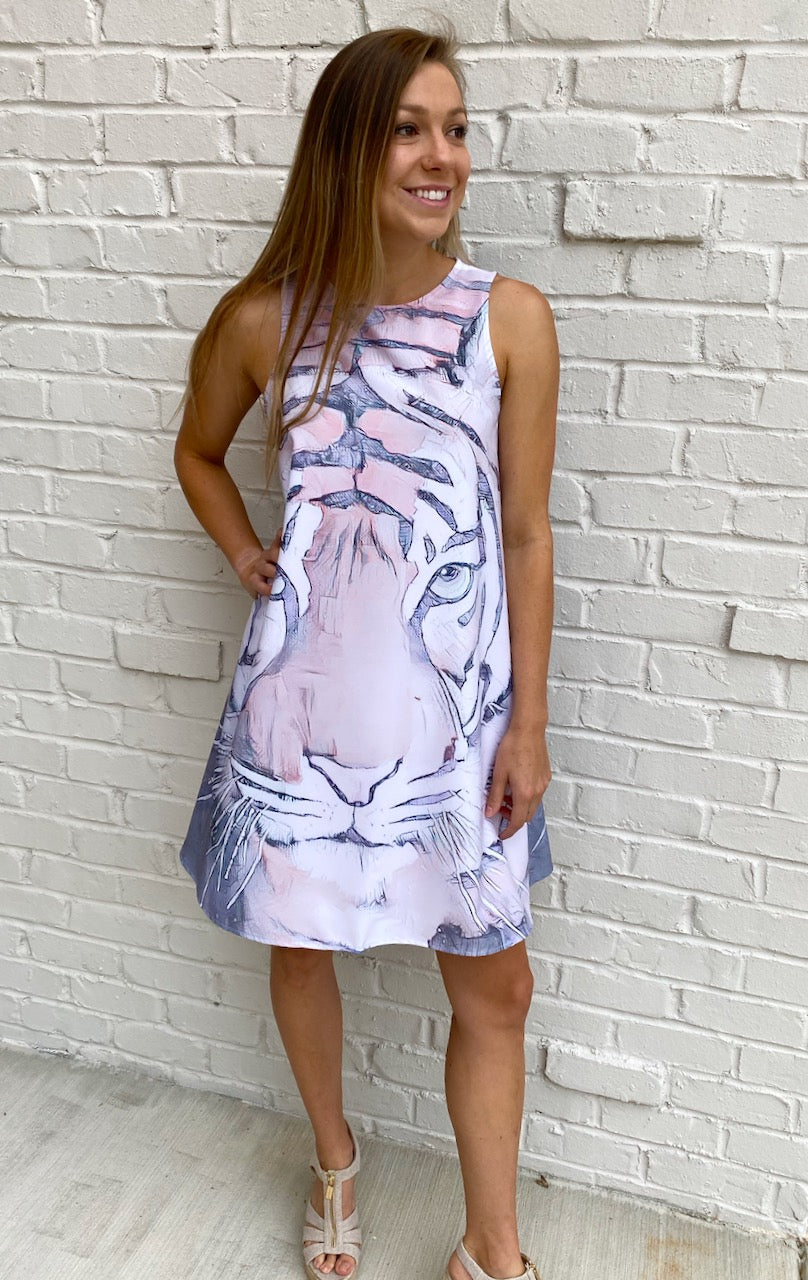 Game-Day Champion Tiger Dress