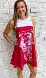 Game-Day Pachyderm Dress