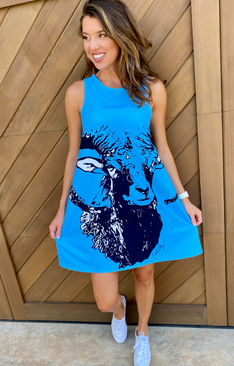 Game-Day Ram Dress