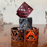 Bold Mountain Leather Cuff (4 Colors)